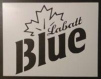 Labatt Blue Labatts Labatt's Beer 11 X 8.5 Stencil Fast Free Shipping