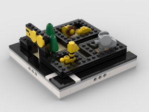 Lego Instructions Mini ZOO Building