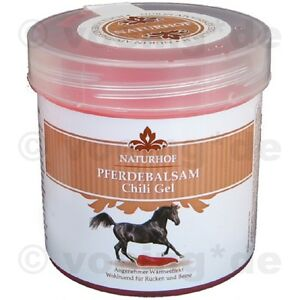 11-98-l-10x-Pferdebalsam-Chili-Gel-250-ml-belebt-und-entspannt-Pferde-Balsam