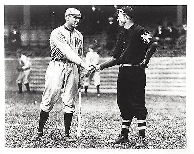 Walter Johnson Washington Senators /& Christy Mathewson NY Giants 8x10 Photo