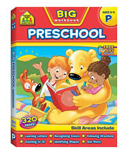Big Preschool Workbook by School Zone Staff (Paperback)