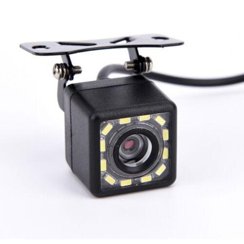12 LED HD Car Rear View Camera Auto Parking Reverse Backup Camera Night VisA-JH