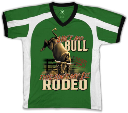 This Aint My First Rodeo Bull Horn Country Southern Retro Sport T-shirt