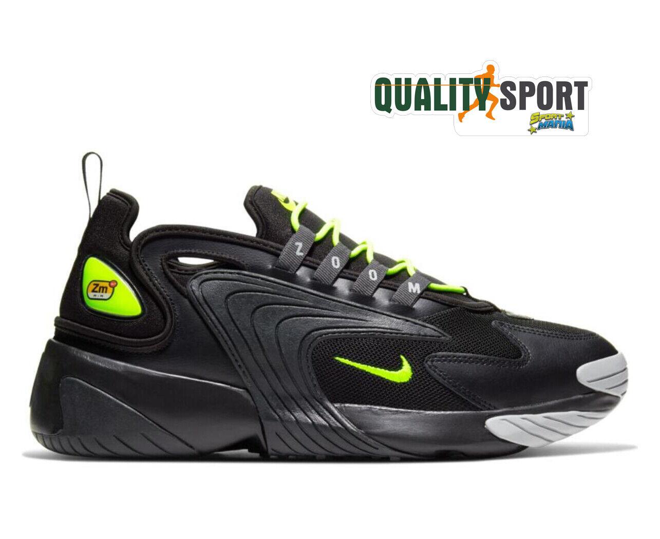 Nike Zoom 2K Schwarz Schuhe Herren Sport Turnschuhe AO0269 008 2019