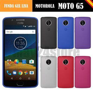 Funda-gel-lisa-Motorola-Lenovo-MOTO-G5