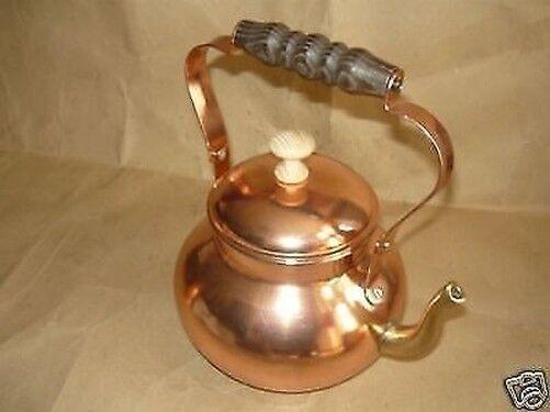 Théière Bouilloire pour l'eau cuivre interne acier inoxydable 3 l