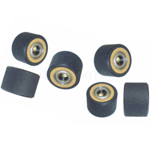 6pcs/lot Copper Core Pinch Roller Hole Dia 4mm For Roland Vinyl Plotter Cutter