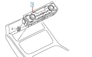 Audi-A8-D4-Klimaanlage-Klima-Heizungsregler-Einheit-4h0820043mdea-Neu-Original