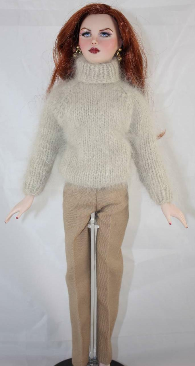 "OOAK GENE REPAINT DOLL AS  NICOLE "" by KRISTEN ASHFORD...STRIKING LIKENESS"