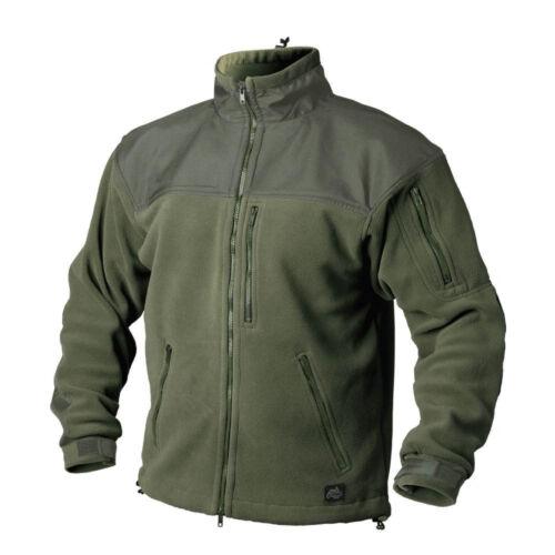 HELIKON TEX CLASSIC 300er Army Outdoor Fleece Veste Jacket OLIVE GREEN XL