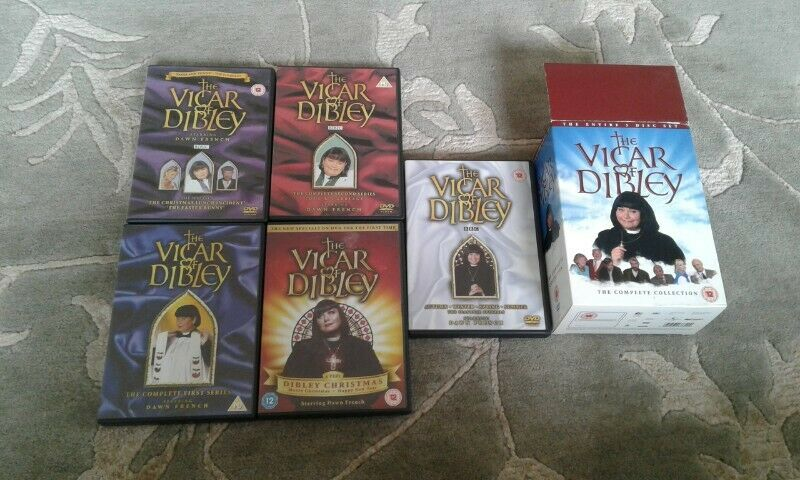 The Vicar Of Dibley Dvd Set The Complete Collection from 2005 for sale