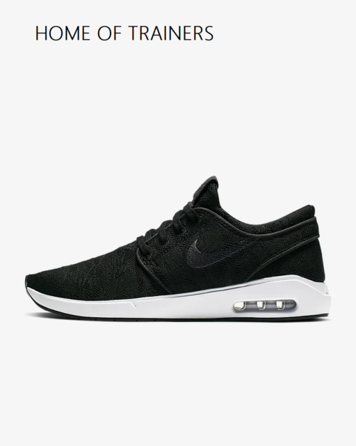 Nike SB Air Max Stefan Janoski 2 schwarz weiß anthrazit Herren Turnschuhe Alle Größen
