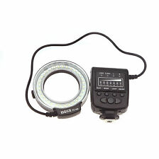 Meike FC-100 LED Macro Ring Speedlite Flash Light for Canon Nikon Olympus Pentax