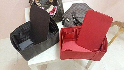 a3eb4efa3e44 Speedy 25 LV Bag Organizer Insert Base Shaper Brown Color Handbag  Accessories for sale online