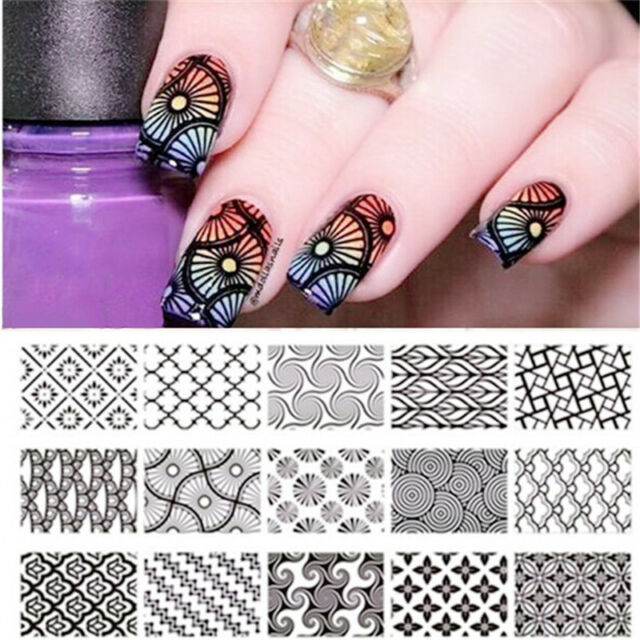 Born Pretty Nail Art Stamp Template Image Stamping Plates Manicure ...