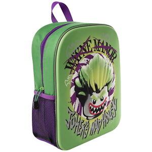 cabd62089d OFFICIAL LEGO Batman The Joker Boys 3D Backpack Rucksack School Bag ...