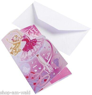 Barbie Party Pink Shoes Kindergeburtstag Partyset Partygeschirr Deko Auswahl