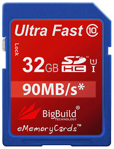 32GB-Memory-card-for-Fujifilm-FinePix-XP120-camera-Class-10-80MB-s-SD-SDHC-New