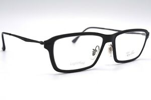 NEW-RAY-BAN-7038-2077-BLACK-LIGHT-RAY-AUTHENTIC-EYEGLASSES-FRAME-RX-53-16-W-CASE