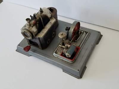 Vintage Wilesco Miniature Marine ? Steam Engine West Germany 10x8x5 5