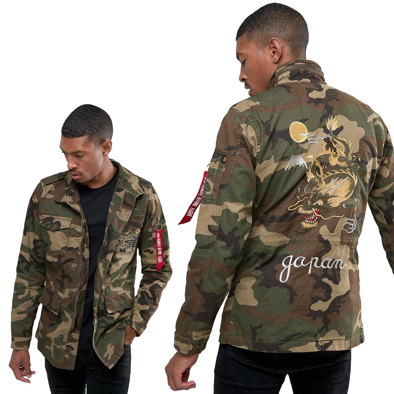 Chaqueta de campo de la chaqueta de invierno Huntington Dragon para hombre Alpha Industries XXS - 3XL