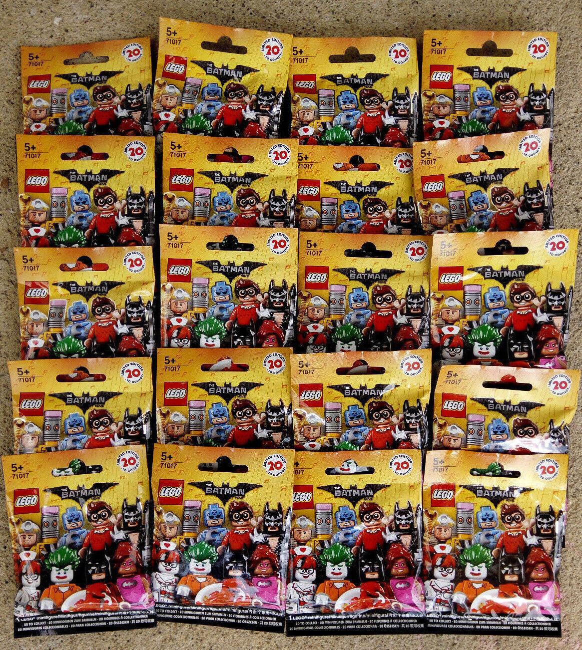 Lego 71017 Minifigures Batman Movie 20 pcs Full Set Collection