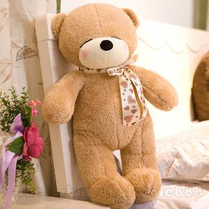 32-039-039-Brown-Teddy-Bear-Giant-Big-Plush-Soft-Toy-Doll-Stuffed-Animal-Birthday