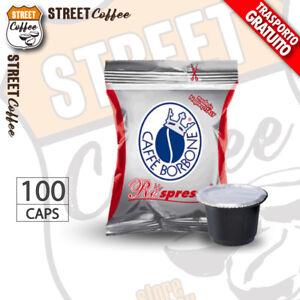100 Cialde Capsule Caffè Borbone Respresso Miscela Rossa comp. Nespresso gratis