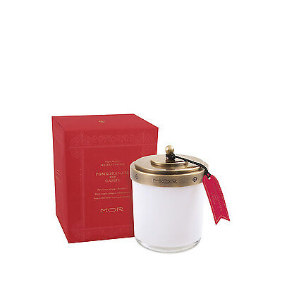 NEW MOR Fragrant Candle 380g Pomegranate & Cassis