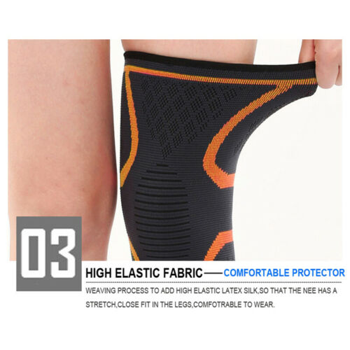 Knee Protector Support Wrap Basketball Fitness Sports Safety Elastic Bandage Pad