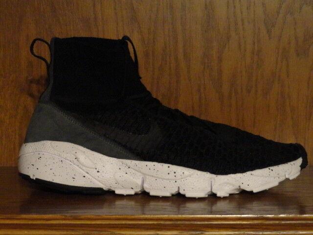 New! Mens sz 12 NIKE AIR FOOTSCAPE BLACK/GREY MAGISTA FLYKNIT Running Shoes BLACK/GREY FOOTSCAPE d4185c