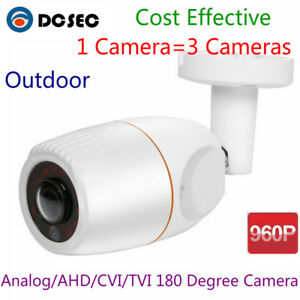 960P-Analog-HD-AHD-CVI-TVI-CCTV-Mini-Bullet-Camera-Outdoor-180-Degree-Wide-Angle