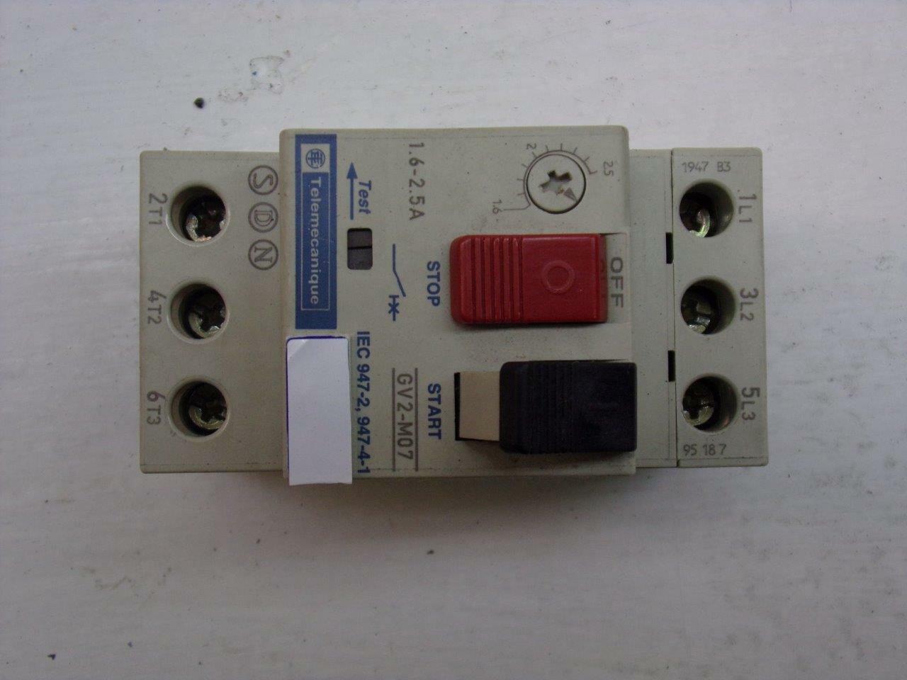Telemecanique GV2M07 Industrial Control System for sale online
