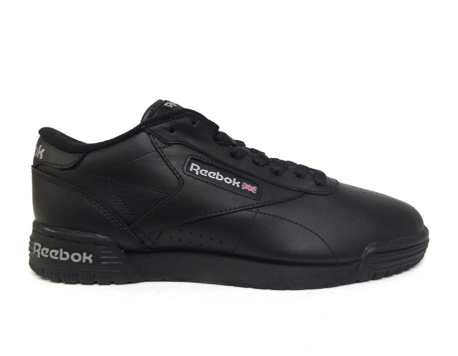 Reebok Men's EXOFIT LO CLEAN LOGO INT Shoes Black/Black AR3168 b