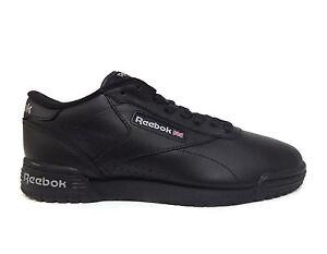 acb16476776f Reebok Men s EXOFIT LO CLEAN LOGO INT Shoes Black Black AR3168 b