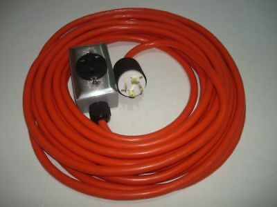 CONNECT DRYER TO WELDER PLUG 6-50R OUTLET 10-30P WELDING EXTENSION CORD 25F