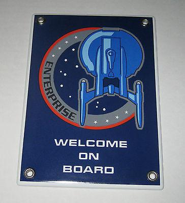 Email escudo Star Trek Enterprise nx-01 Welcome on board-rareza