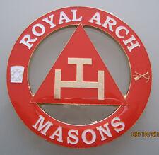 Masonic Royal Arch Masons  Cut out Car Auto Emblem