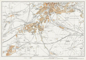 Doncaster (S), Balby & Edlington Yorkshire 1938 Map 78   eBay