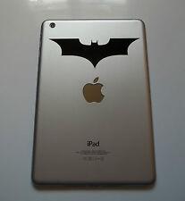 1 x Batman Decal - Vinyl Sticker for iPad Mini Tablet Bat Comic Mac Macbook Air