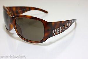 86c7c32a544 Versace Mod. 4131B 461 73 Brown Havana with precious stones ...