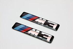 BMW-E30-E36-E46-E90-M-M3-B-PILLAR-SIDE-FENDER-VENT-GRILL-EMBLEM-BADGE-Logo