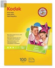 """Kodak Inkjet Glossy Photo Paper 8.5"""" X 11"""" 100 Sheets"""