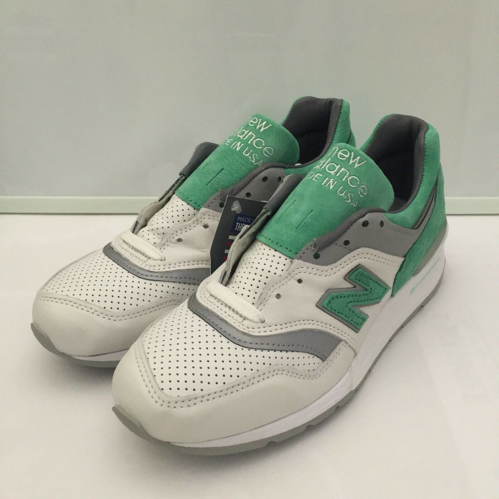 New Balance 997 Made In USA White Mint Kith Ronnie Fieg Concept (M997CMA) SZ 7.5