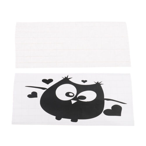 Cartoon Owl Switch Vinyl Sticker Owl Wall Stickers for Kids Room Home Decor PVCA
