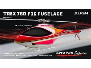 Aligner Fuselage Carbone T-rex 760 F3c - Rose
