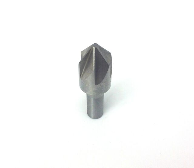 "5//16/"" 82degree 6 FLUTE HIGH SPEED STEEL CHATTERLESS COUNTERSINK"