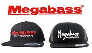 296604a9f2e Image is loading Megabass-Logo-Snapback-Hats-Fishing-Hat-Snapback-Cap-