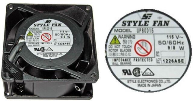 UF15A23-H Fan AC axial 230VAC 172x150x38mm 282.2m3//h 50dBA 2750rpm UF15A23BTH