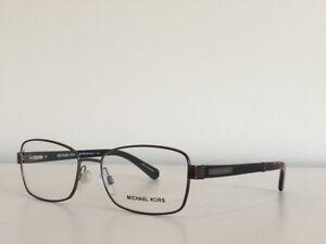 33f7bc3cfef 155 Michael Kors MK 7003 1009 Menorca Gunmetal Black Eyeglasses ...